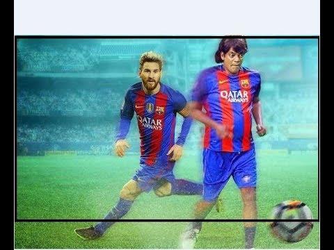 Salim Kumar playing for Barcelona|full video|HD  chirichu Chathu😂 |(rotate screen) al-sailm Kumar😂