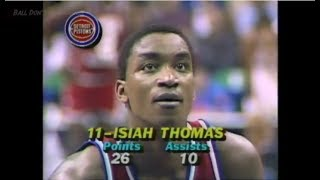 Isiah Thomas - 1986 NBA All-Star Game MVP Highlights (30 pts, 10 ast, 5 stls)