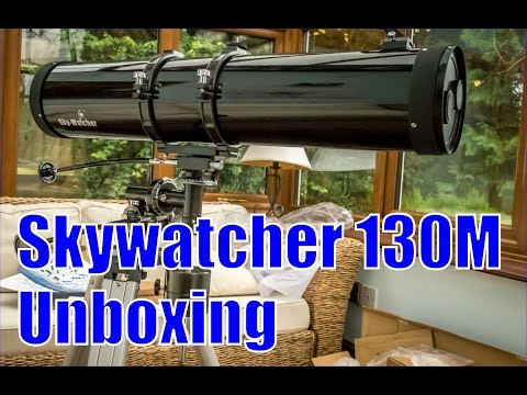 Skywatcher 130M Telescope Unboxing