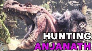 Combattimento contro Anjanath