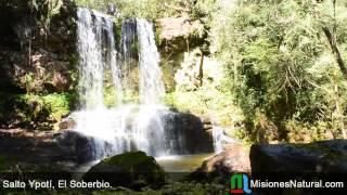preview picture of video 'Salto Ypoti, El Soberbio. Misiones Natural'