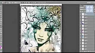 PS6 Workflow Example For Digital Illustration