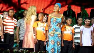 """""""African Dream"""" by Kimmy Skota and André Rieu in Maastricht on 13 july 2010"""