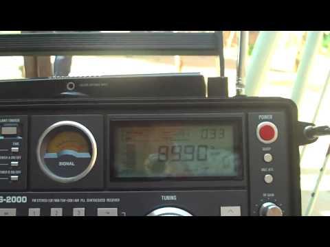 89.9 MHz Radio Sucesso FM  de Aurilandia - GO da (Rede Sucesso) Escutada em Buriti de Goias - GO