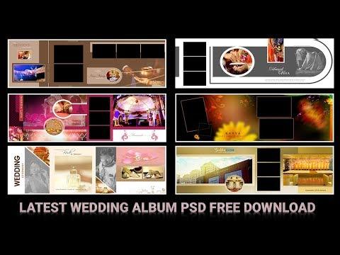 Latest Wedding Album 12x36 Psd Templates Free Download 2019 Vol-43 |Srinu photo editing