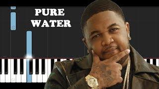 Mustard, Migos   Pure Water (Piano Tutorial)