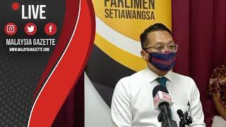 MGTV LIVE : Sidang Media YB Nik Nazmi Isu Peniaga Setiawangsa