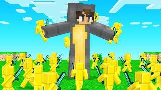 CLAY ARMY Vs SLOGO! (Minecraft Battle)