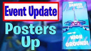 Live Event Warning Posters Up Doggus Cattus Fight - Season 9 Live Event Updates - Major Map Update