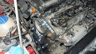 Шкода Октавия 1.4 (16 кл) 75 л.с. - ремонт двигателя (заклинил распредвал)