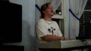 Adam Wiles singing Amazing Grace (My Chains Are Gone)