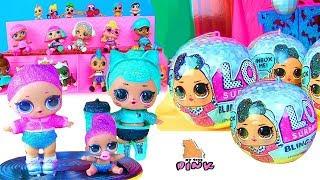 LOL SURPRISE DOLLS! КОНКУРС КРАСОТЫ! Блестящие Куклы ЛОЛ Bling Series Мультфильм for kids