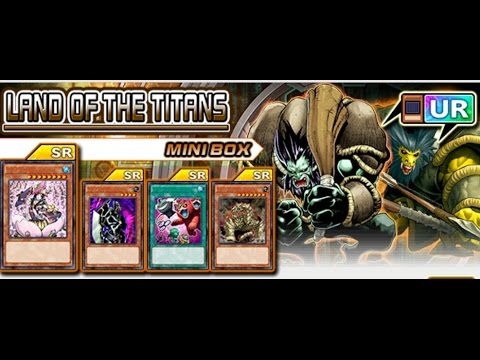Yu-Gi-Oh! Duel Links : Duel School Quiz Land of the Titans 1,2.