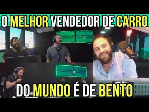 O MELHOR VENDEDOR DE CARROS DO MUNDO É DE BENTO