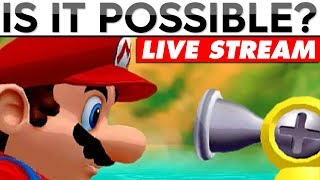 Super Mario Sunshine Challenges | IS IT POSSIBLE [LIVE]
