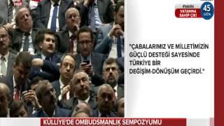 4.Uluslararası Ombudsmanlık Sempozyumu'nda Cumhurbaşkanı Recep Tayyip Erdoğan'ın Konuşması