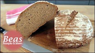 Roggenmischbrot Rezept | Brot backen | Mit Sauerteig selber machen