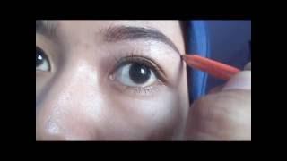 Tips membentuk alis tanpa dicukur (Eyebrow Tutorial)