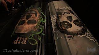 Lucha Underground 5/11/16 Matanza Vs Mil Muertes  GRAVER CONSEQUENCES