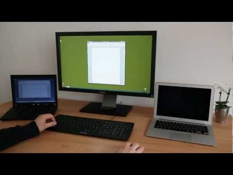 ShareMouse Controls Multiple Computers With A Single Keyboard And Mouse