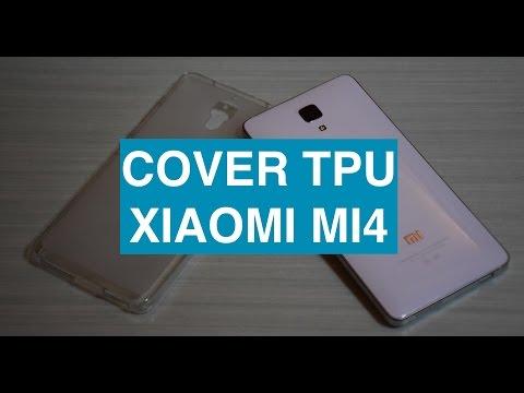 Foto Recensione Cover TPU Xiaomi Mi4