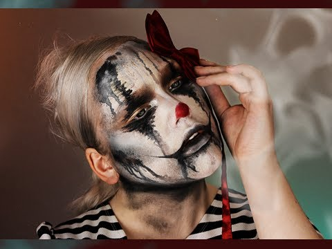 Halloween: The Sad Clown Makeup Tutorial