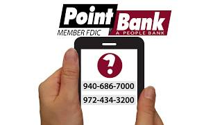PointBank: Was Your Big Bank There for You?