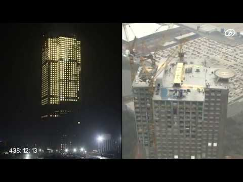 China Builds Complete 57-Storey Skyscraper In Record 19 Days