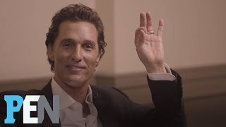 Matthew McConaughey Reveals Which Of His Female Costars He Really Had A Crush On | PEN | People