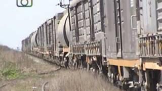 preview picture of video 'Tren granero de NCA pasando por Ballesteros'