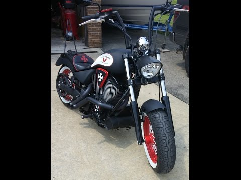 NEW UPDATED 2012 Victory High Ball / Zoomies Exhaust / S&S Air Intake / LED Turn signals / Sissy Bar