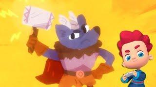 Linterna Mágica - Episodio 66 - El martillo de Thor - Moolt Videos para Niños