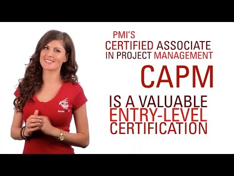 CAPM- Certified Associate in Project Management Training - YouTube