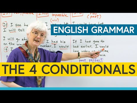 Download Learn English Grammar: The 4 Conditionals Mp4 HD Video and MP3