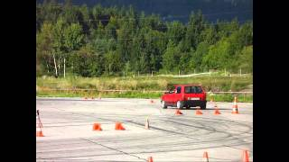 preview picture of video 'Autoslalom Arnoldstein September 2010'