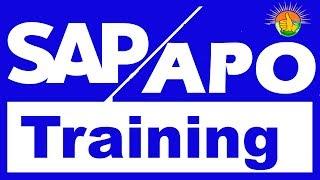 SAP APO Tutorial for beginners - SAP APO Demand Planning, SNP, PPDS - ( Call: +91-8297944977 )
