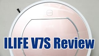 ILIFE V7S Review - What's in the box, Features and Demo