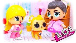 Куклы #ЛОЛ Смешные Мультфильмы с куклами LOL Surprise №23