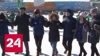 Якутск принял праздничную эстафету, идущую по стране
