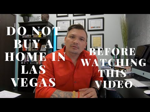 Warning Warning Do NOT Buy A Home In Las Vegas! Disclosures Disclosures