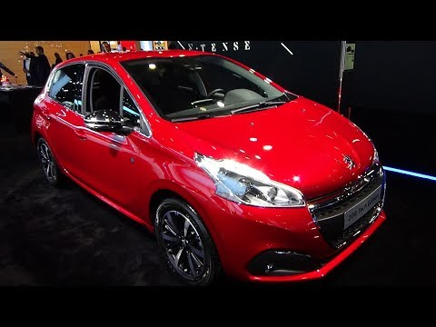 2019 Peugeot 208 Tech Edition – Exterior and Interior – Paris Auto Show 2018