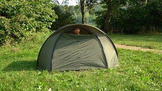 Das immer dabei Zelt von Anaconda! Das Pop Up Shelter im Unboxing