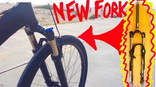 Bike Suspension Fork Upgrade How To Video