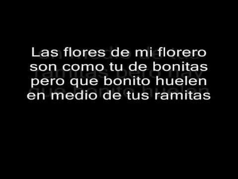 los charros de lumaco - las flores de tu florero letra HD