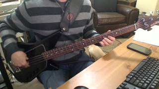 Descendents - Anchor Grill Bass Cover
