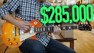 I Played A $285,000 Gibson Les Paul
