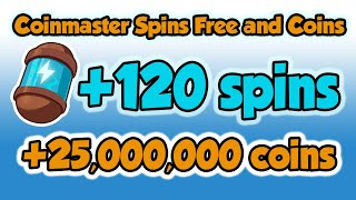 Coinmaster spins free and coins links 25.02.2021