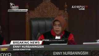 Hakim MK Minta Bukti, Tim Prabowo Belum Bisa Menunjukkan