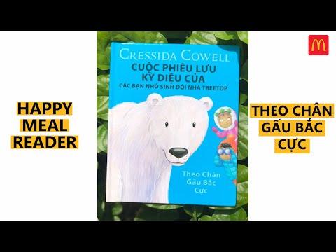 Happy Meal Reader - Kể chuyện bé nghe - Cuộc phiêu lưu kỳ diệu của các bạn trẻ sinh đôi nhà Treetop