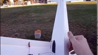 FliteTest Tiny Trainer with a new fuselage modification